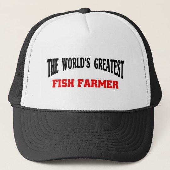 Greatest Fish Farmer Cap