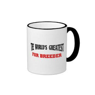 Greatest Fur Breeder Ringer Mug