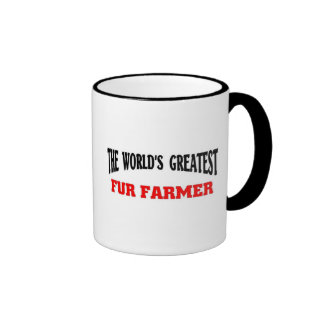Greatest Fur farmer Ringer Mug