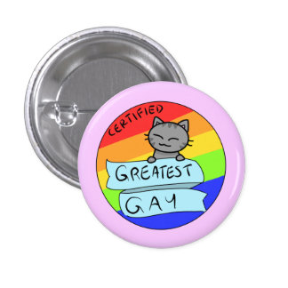 Greatest Gay 3 Cm Round Badge