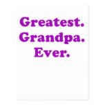 Greatest Grandpa Ever Post Cards