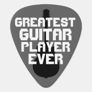 greatest guitar-player ever, cool plectrum