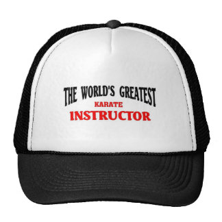 Greatest Karate instructor Cap