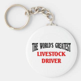 Greatest Livestock Driver Keychains