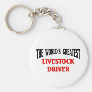 Greatest Livestock Driver Keychains