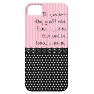 Greatest love barely there iPhone 5 case