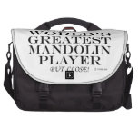 Greatest Mandolin Player Close Commuter Bags
