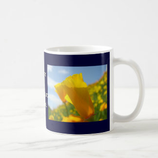 Greatest Mom! Coffee Cup gifts Poppy Flowers Coffee Mugs