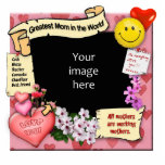 Greatest Mum Photo-Frame Cut Outs
