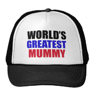 greatest mummy design mesh hats