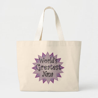 greatest nana canvas bags