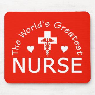 Greatest Nurse mousepad