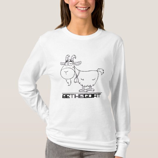 Greatest of All Time: Be the Goat T-Shirt
