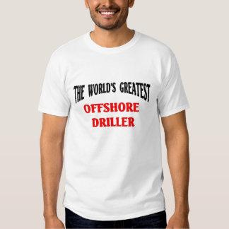 Greatest Offshore Driller Tee Shirt