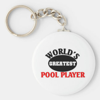 Greatest Pool Player Key Ring
