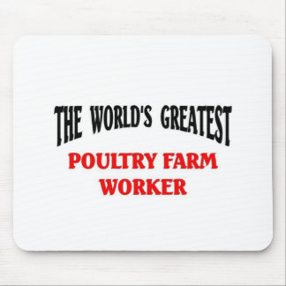 Greatest Poultry Farm worker Mouse Pad