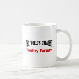 Greatest Poultry Farmer Basic White Mug