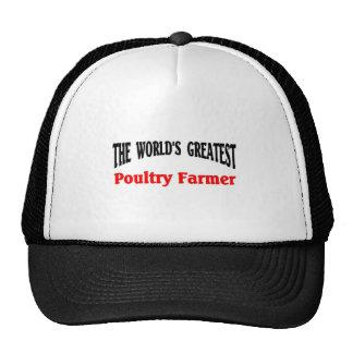 Greatest Poultry Farmer Cap