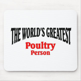Greatest Poultry Person Mouse Pad