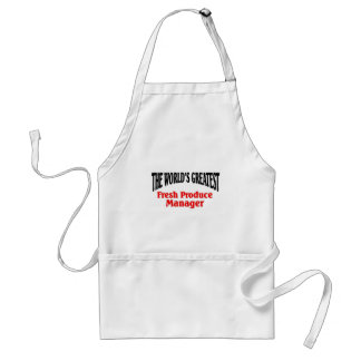 Greatest Produce Manager Standard Apron