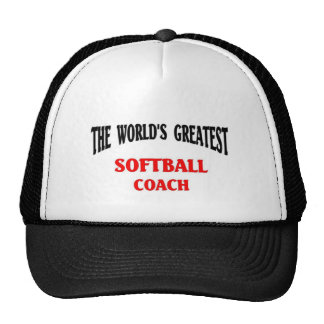 Greatest Softball Coach Trucker Hat