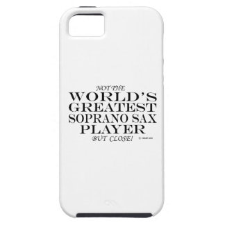 Greatest Soprano Sax Player Close iPhone 5 Cases
