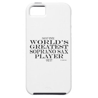 Greatest Soprano Sax Player Yet iPhone 5 Cases
