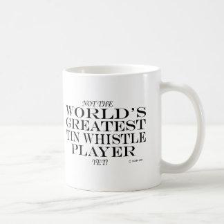Greatest Tin Whistle Player Yet Basic White Mug