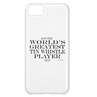 Greatest Tin Whistle Player Yet iPhone 5C Case