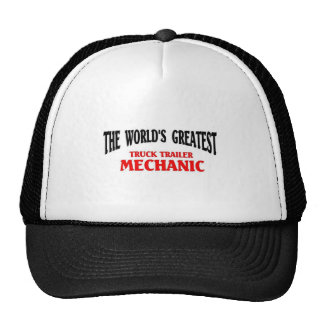 Greatest Truck Trailer Mechanic Mesh Hat