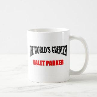 Greatest valet parker coffee mug