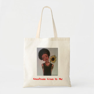 Greatness Lives In Me! Tote Bag