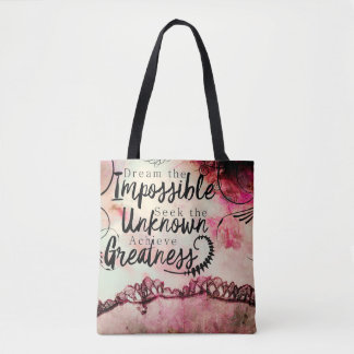 greatness tote bag