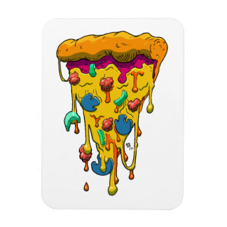 'Greazzy Pizza' Magnet