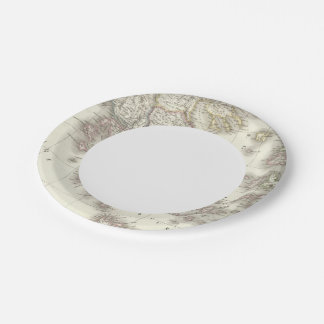 Grece ancienne - Ancient Greece 7 Inch Paper Plate