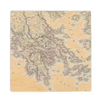 Grece ancienne - Ancient Greece Wood Coaster