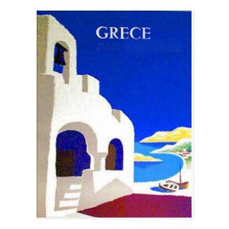 grece vintage postcard post cards