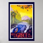 Grece Vintage Travel Poster