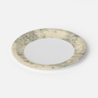 Grecian Archipelago, ancient 7 Inch Paper Plate