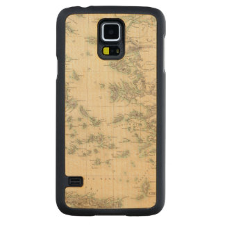 Grecian Archipelago, ancient Carved Maple Galaxy S5 Case