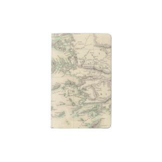 Grecian Archipelago, ancient Pocket Moleskine Notebook