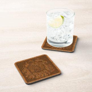 Grecian Mosaic Stone Drink Coaster