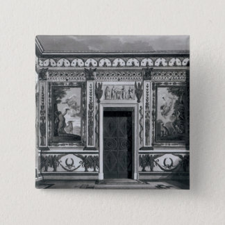 Grecian salon, from 'Architectural 15 Cm Square Badge