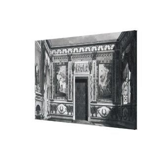 Grecian salon, from 'Architectural Canvas Print