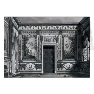 Grecian salon, from 'Architectural Cards
