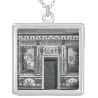 Grecian salon, from 'Architectural Silver Plated Necklace