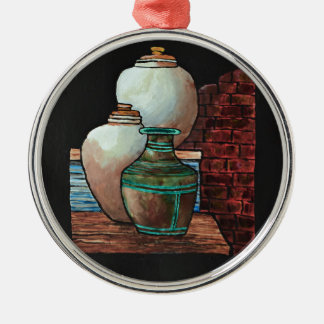 Grecian Urns. Christmas Ornament