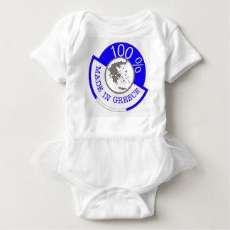 GREECE 100% CREST BABY BODYSUIT
