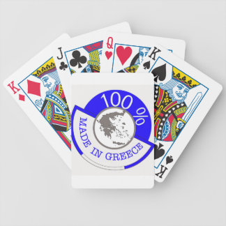 GREECE 100% CREST BICYCLE PLAYING CARDS
