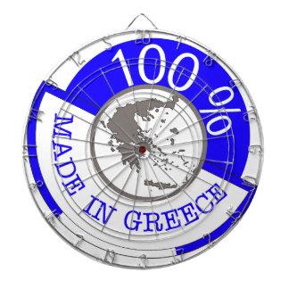 GREECE 100% CREST DARTBOARDS